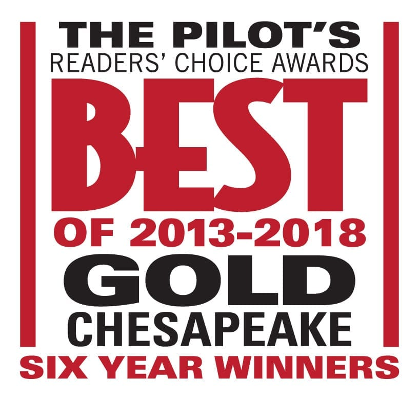 Best of Chesapeake Gold Winners
