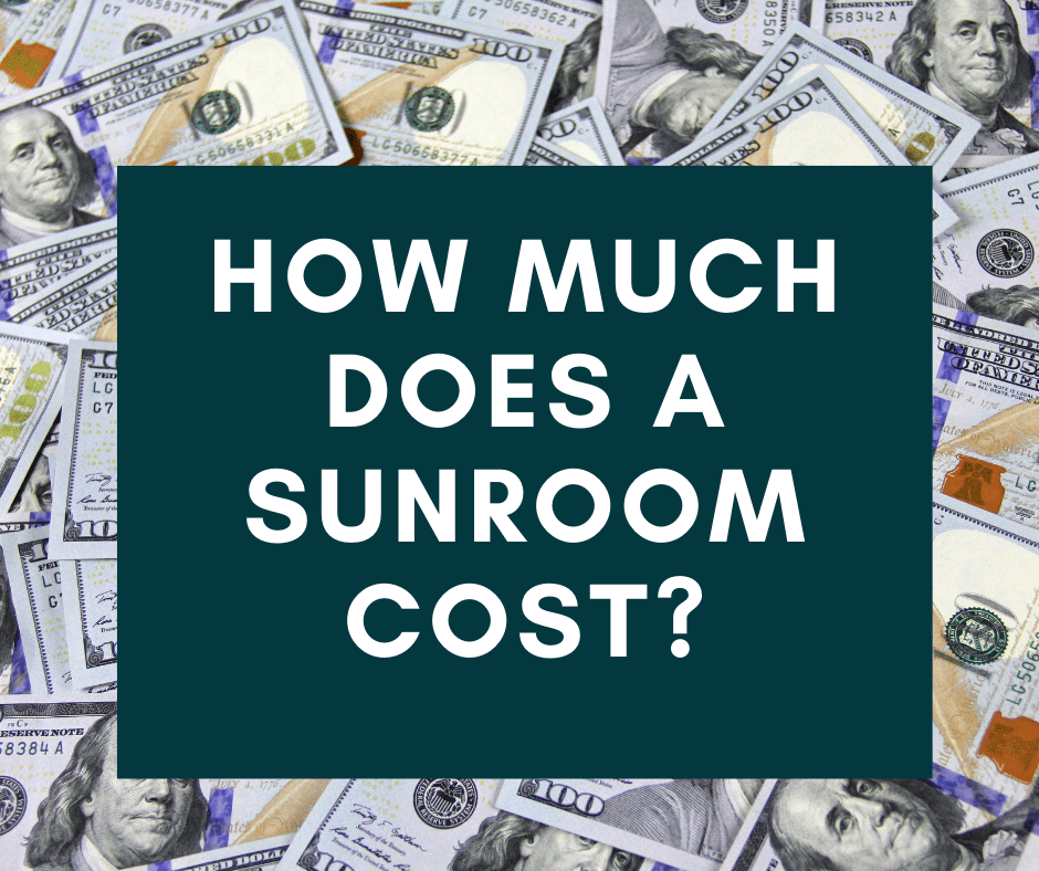 how much does a sunroom cost