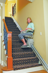 Straight Stairlift, Straight Stairlifts, Hampton Roads Mobility