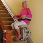 stair lift electricity use on straight stair lift