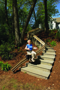 Bruno Outdoor Elite Curved Stairlift